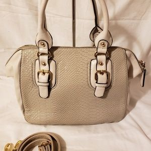 Aldo bag grey and white